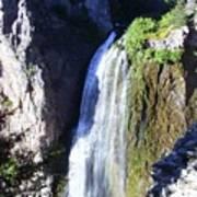 Clear Creek Waterfall  Art Print