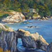 Clear Day At Point Lobos Art Print