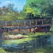Clearfork Bridge Art Print