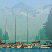 Clearing Mist Art Print