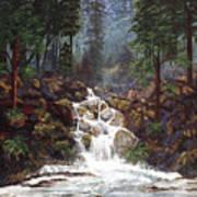 Clearwater Falls Art Print