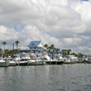 Clearwater Florida Art Print