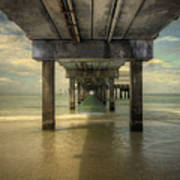 Clearwater Pier Art Print