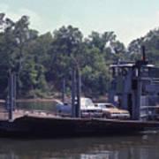 Cleece's River Ferry Nashville Tennessee - 1 Art Print