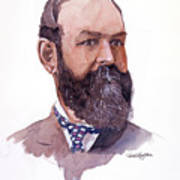 Clement Cornwall Portrait Art Print