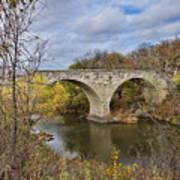 Clement Stone Arch Bridge Art Print