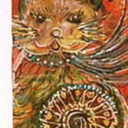 Cleo's Wheel Revisited Art Print