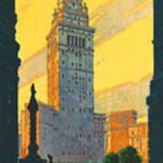Cleveland - Vintage Travel Art Print