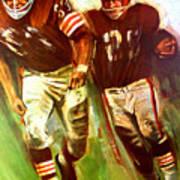 Cleveland Browns 1965 Cb Helmet Poster Art Print
