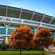 Cleveland Browns Stadium Art Print