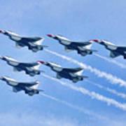 Cleveland National Air Show - Air Force Thunderbirds - 1 Art Print