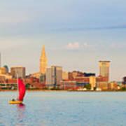 Cleveland On The Lake Art Print
