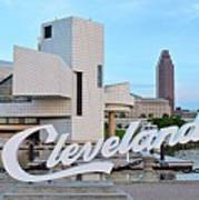 Cleveland Updated View Art Print