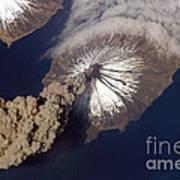 Cleveland Volcano, Iss Image Art Print