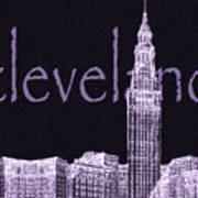 Cleveland's Landmark II Art Print