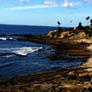Cliff Drive Laguna Beach Art Print