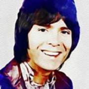 Cliff Richard, Music Legend Art Print