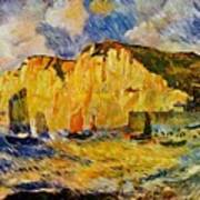 Cliffs 1883 Art Print