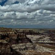 Cliffs And Clouds Art Print