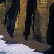 Cliffs At Blacklock Point Art Print