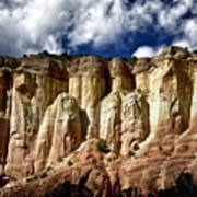Cliffs At Echo Amphitheater Art Print