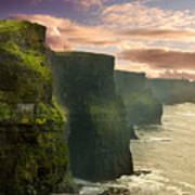 Cliffs Of Moher - 2 Art Print