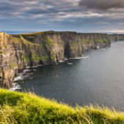 Cliffs Of Moher On The West Coast Of Ireland Art Print