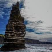 Cliffs Of Moher Stack Art Print