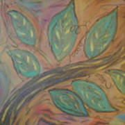 Climb 1 Of 2 Art Print