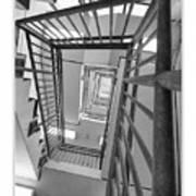 Climbing Stairs Art Print
