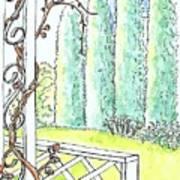 Clinging Vine Art Print