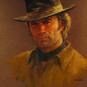 Clint Eastwood Art Print