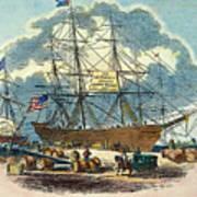 Clipper: Flying Cloud, 1851 Art Print