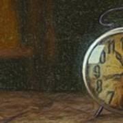 Clock - Id 16218-130715-1843 Art Print