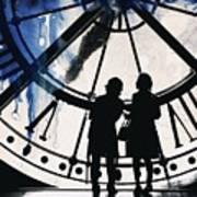 Clock Watching Art Print