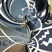 Clockface 14 Art Print