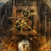 Clockmaker - A Sharp Looking Time Piece Art Print