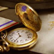 Clockmaker - Time Never Waits  Art Print