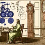Clockmaker Art Print
