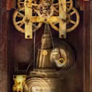 Clockmaker - The Mechanism  Art Print