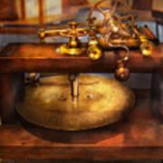 Clocksmith - The Gear Cutting Machine  Art Print