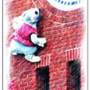 Clocktower Mouse Art Print