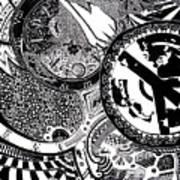 Clockwork Art Print