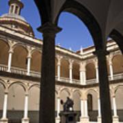 Cloister Real Colegio Seminario Del Corpus Christi Art Print