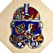 Clone Trooper Star Wars Afrofuturist Art Print