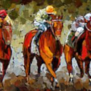 Close Race Art Print