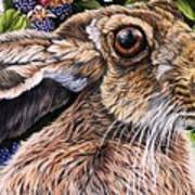 Close Up Detail From Painting Celibration Art Print