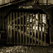 Closed Barn Art Print