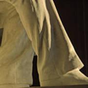 Closeup Detail Of Lincoln Memorial Art Print