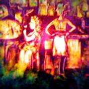 Closing Time At The Sly Grog Club Art Print